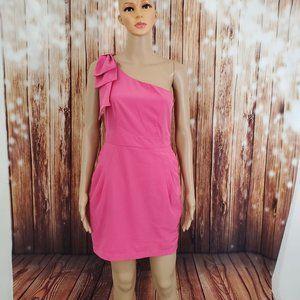 Esley Dress Pink S One Shoulder
